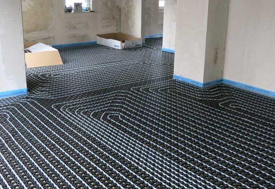 Fußbodenheizung im Bestand